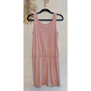 [Lou & Grey] Striped Linen Slouch Dress